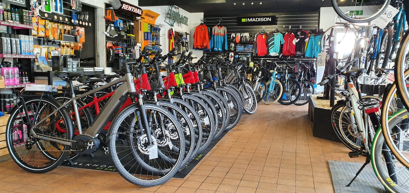 ebike shop in Chester, Flintshire, North Wales