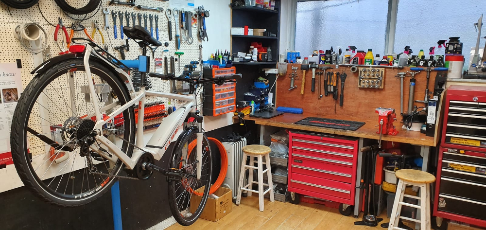 Chester eRoads, Electric ebike workshop Chester