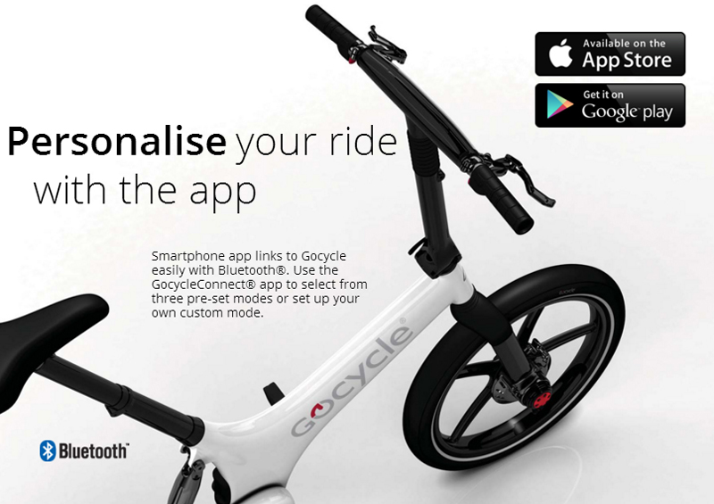 Gocycle ebike app, Chester eRoads, ebike shop Cheshire and the Wirral